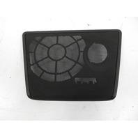 10 BMW Z4 E89 #1160 Trim, Speaker Grill Cover, Rear Bulkhead Panel 51469147547