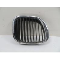 98 BMW Z3 1.9L #1163 Grill, Hood Kidney Right 51138397504
