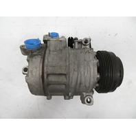 98 BMW Z3 1.9L #1163 Compressor, Air Conditioning A/C 64526916232