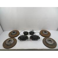 06 BMW M6 E63 #1164 Caliper & Rotor Set, Drilled Discs, Front & Rear