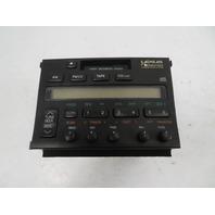 95 Lexus SC300 SC400 #1065 Radio, Pioneer Cassette CD Player AM FM C724UL0A