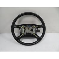 95 Lexus SC300 SC400 #1065 Steering Wheel, Black Leather