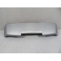 07-10 Porsche Cayenne 957 #1167 spoiler, rear silver 95551293905G2X