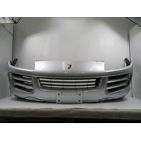 07-10 Porsche Cayenne 957 #1167 Bumper Cover, Front Silver 95550531110