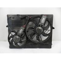 07-10 Porsche Cayenne 957 #1167 radiator cooling fan & shroud 7L0121207D 95510625810