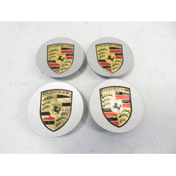 07-10 Porsche Cayenne 957 #1167 Wheel Center Cap Set, OEM 7L5601149E