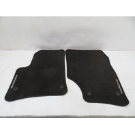 07-10 Porsche Cayenne 957 #1167 Floor Mat Pair, Front Black