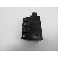 BMW 840ci 850i E31 Switch, Memory Front Power Seat 61311383193