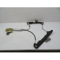 BMW Z4 E89 Window Motor & Regulator, Left Door 7198303 6952085
