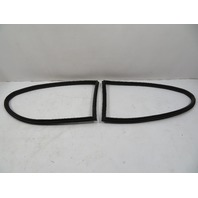 01-06 BMW E46 M3 Seal Pair, Rear Quarter Window, Coupe 51368252621