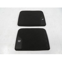 01-06 BMW E46 M3 Trim Pair, Rear Parcel Shelf Speaker Cover Grills 8243305 8243306