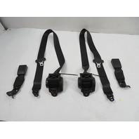 BMW M235i F22 Seatbelt & Buckle Set, Rear Coupe, Black