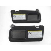 Lexus RC 350 RC 300 F-Sport Sunvisor, Pair Front Black 74320-24270