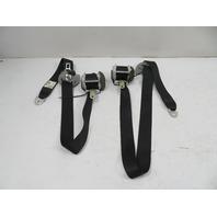 Toyota Highlander Seatbelt Pair, 2nd Row, Left & Right Black