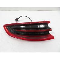 15-18 Porsche Macan 95B Light Lamp, taillight, left 95B945095E