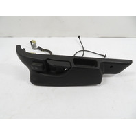 BMW Z3 E36 Seat Frame Track Cover Trim & Switch Left Black