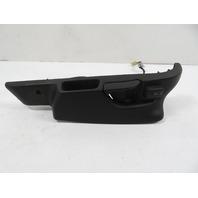 BMW Z3 E36 Seat Frame Track Cover Trim & Switch Right Black