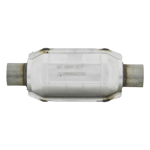 "2/"" Flowmaster Universal Catalytic Converter High Flow Stainless 2220120"