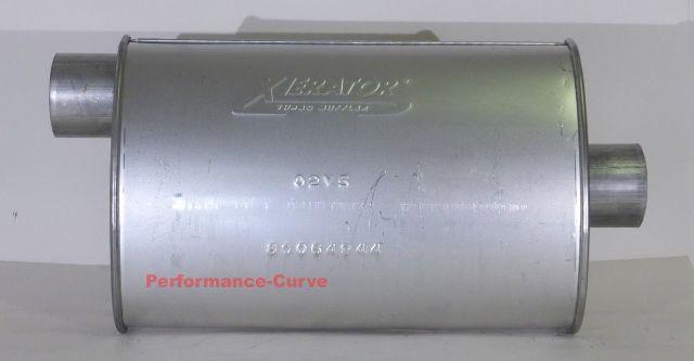 "14/"" Body Full Boar Performance Turbo Muffler O//C  2.25/"""