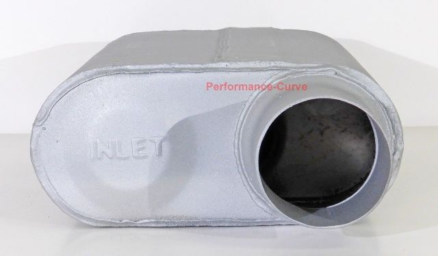 """Xlerator VX Series Performance 2 Chamber Muffler VX3043 3/"""" Offset // Offset"""
