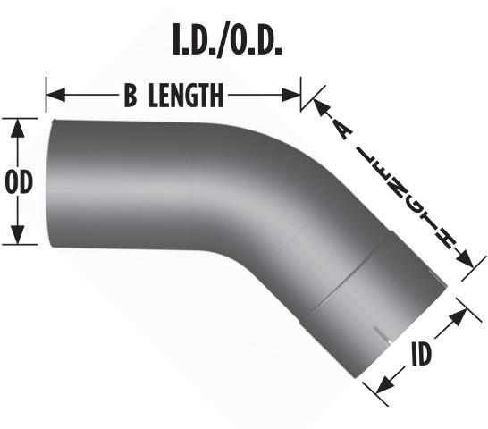 "Diesel 4/"" 90 Degree Mandrel Bend Exhaust Elbow Race Applications"