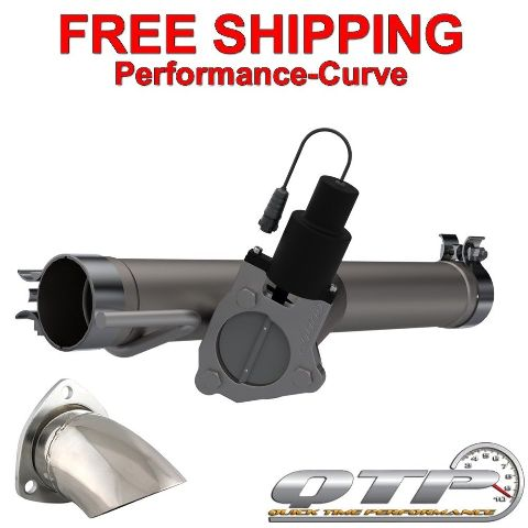 Ram 1500 Exhaust >> Qtp Quick Time Performance Electric Exhaust Cutout Fits 09 18
