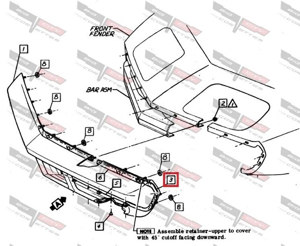 1996 Corvette Fuel Rail Covers