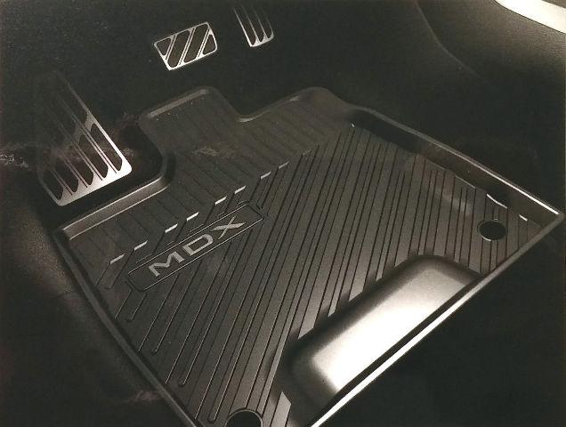 2014-2016 Acura MDX OEM All Season Floor Mats Black NEW