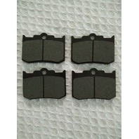 Brake Pads For 4-Piston Big Dog HHI & Performance Machine Calipers 124x4HR