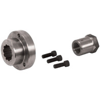 """BDL 1"""" OFFSET FRONT PULLEY INSERT & NUT FOR HARLEY"""
