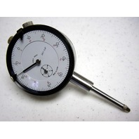 "PRECISION WHITE FACE 0-1"" DIAL INDICATOR MACHINIST TOOL"