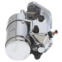ANGLED POST THUNDERFIRE ULTIMA STARTER 2.0 KW CHROME FOR HARLEY BIG TWIN EVO 89-06