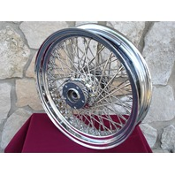"16"" X 3.5"" 80 SPOKE FRONT BILLET HUB WHEEL INDIAN CHIEF DELUXE SPIRIT 1999-03"