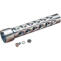 """Drag Specialties 1-3/4"""" Baffle Pipe for Harley Drag Pipes & Custom Application"""