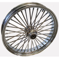 "18X3.5"" DNA FAT SPOKE MAMMOTH SPOKE 2007-UP FRONT WHEEL HARLEY SOFTAIL HERITAGE"
