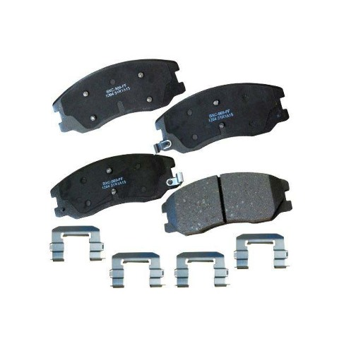 2007 2008 2009 Pontiac Torrent Max Performance Ceramic Brake Pads F+R