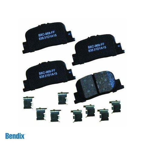 Toyota Brake Pads >> Details About Bendix Stop Sbc835 Rear Ceramic Disc Brake Pads For Select Toyota Camry Models