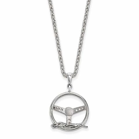 Roy Rose Jewelry Sterling Silver Alpha Epsilon Phi Small Pendant