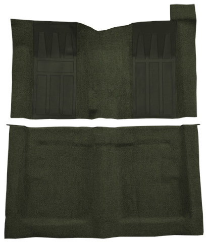 Carpet Floor For 69 Ford Torino Gt 2dr Hardtop 4spd W 2