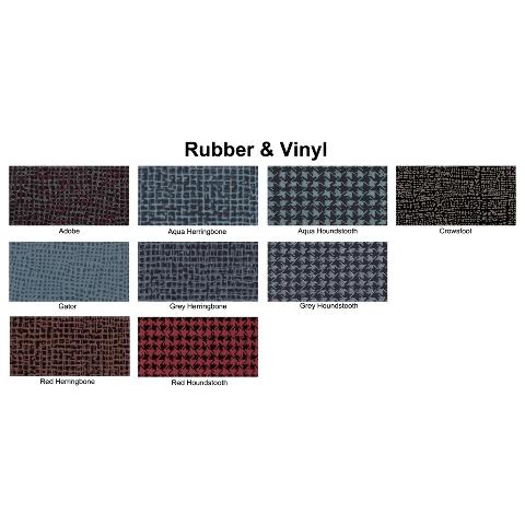 1965-1966 Plymouth Fury Trunk Mat TM Vinyl Gray Plaid