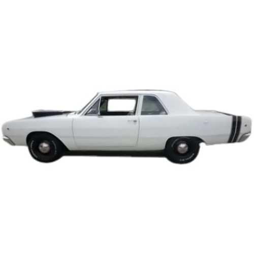 Headliner for 1967-1968 Dodge Polara 4-Door Sedan Perforated Dark Blue