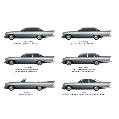 Trunk Divider Panel Board 1pc for 1968-1972 Pontiac GTO Hardtop 2 Door