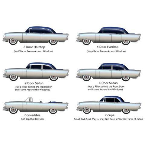 1955 Oldsmobile Super 88 4 Door Hardtop