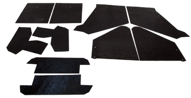 A-Arm Controm Arm Dust Splash Shield for Cadillac 1963-64 2//4DR 10pc Rubber