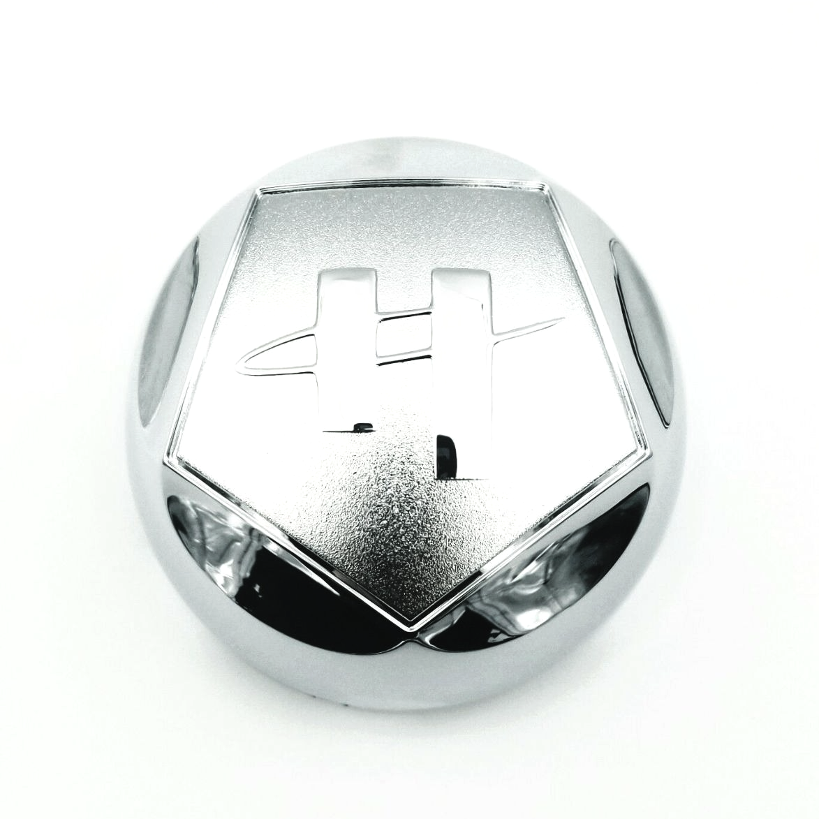 "Helo Chrome Wheel Center Cap 3"" (81mm) Diameter for HE789 HE791 5x114.3 5x127"