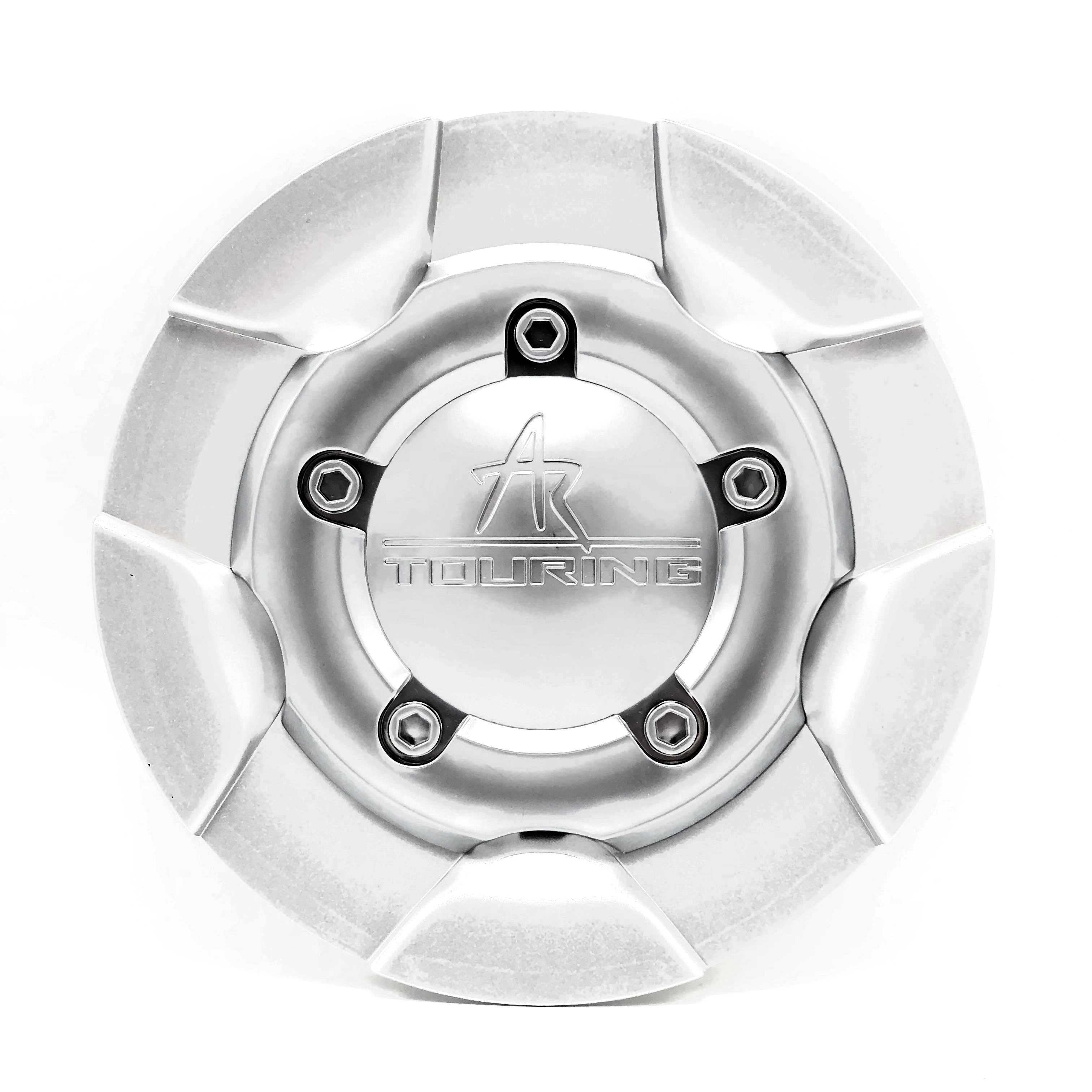 """American Racing AR38 Touring Center Cap 6"""" OD BC-241 BC-242 Silver 1038200003"""