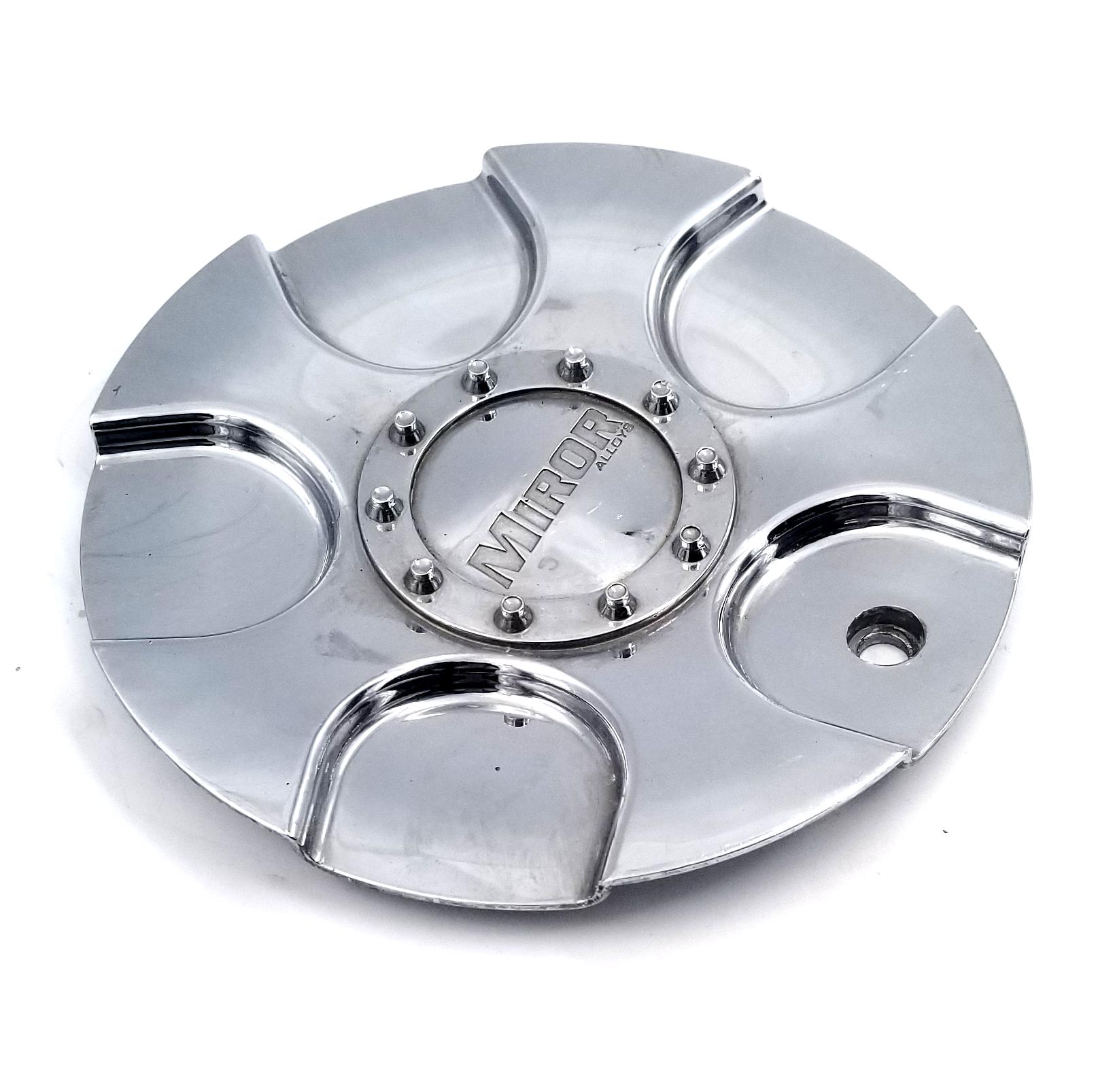 "Miror Alloys Wheel Center Cap CAP407L180 Chrome 7/"" NEW"