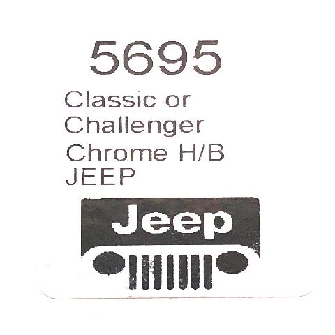 Horn Button Blue Chevy Bowtie Logo Steel Chrome Classic Challenger Series Wheel