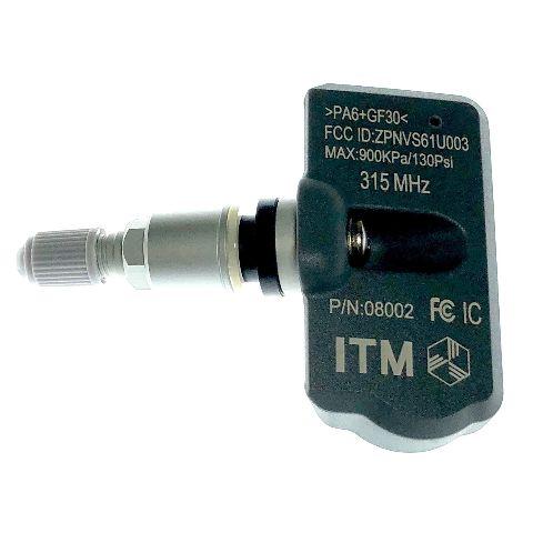 1 TPMS Tire Pressure Sensor 315Mhz Metal for 07-08 Infiniti G35