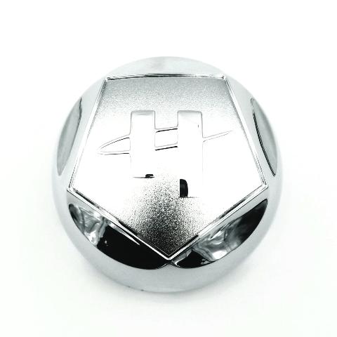 "Helo Chrome Wheel Center Cap 4"" (101mm) Diameter for HE791 Maxx 5x114.3 6x139.7"